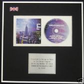 OASIS-CD Album Award-STANDING ON THE SHOULDER OF GIANTS